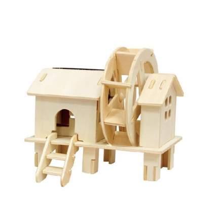 3d деревянный пазл robotime солнечные механизмы водяная мельница w150