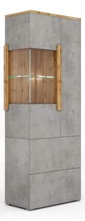 Платяной шкаф МФ Мелания Римини 2014 MEL_2014 76,6х39,5х199,5, бетон чикаго/дуб вотан