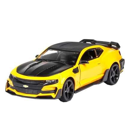 Инерционная машинка Cars спортивное купе Chevrolet Camaro желтый