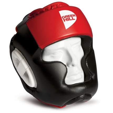 Шлем Green Hill Poise черный/красный XL