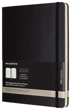Еженедельник MOLESKINE Pro Vertical DHB12PRO4 Черный