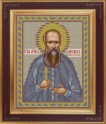 Вышивка бисером Galla Collection М265 Новоселов Михаил, мученик 12х15 см