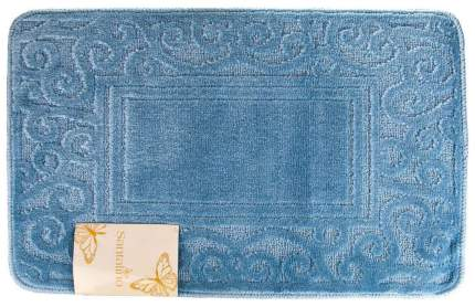 Коврик для ванной Santalino Lee Голубой, 50х80 см