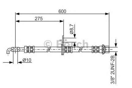 Шланг тормозной системы Bosch 1987476246