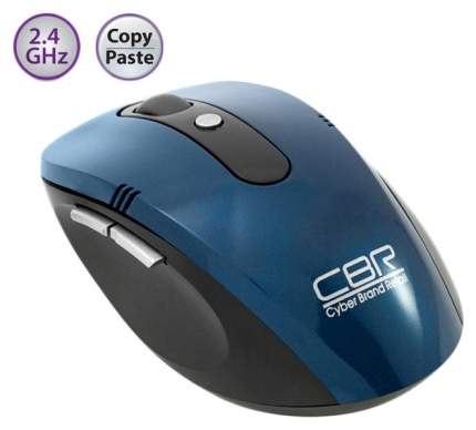 Беспроводная мышь CBR CM 500 Blue/Black