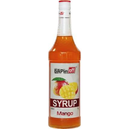 Сироп Barinoff манго 1 л
