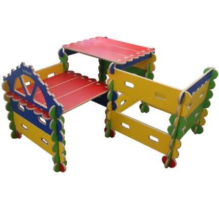 Готовый комплект Крепость - игровой детский конcтруктор-транcформер Архитектор