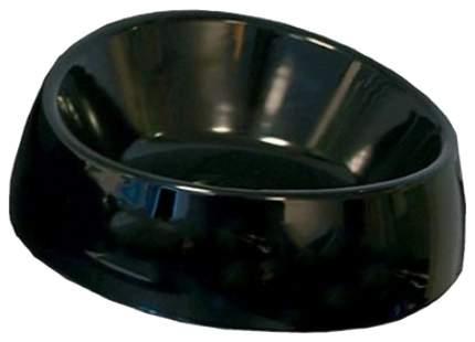 Одинарная миска для кошек и собак Savic, пластик, резина, черный, 0.75 л
