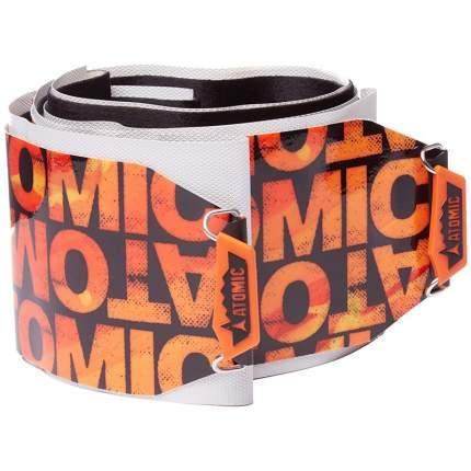 Камус Atomic Multifit Powder Rocker черный/оранжевый 130 мм