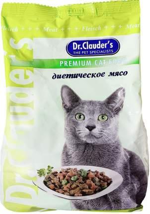 Сухой корм для кошек Dr.Clauder's Premium Cat Food, диетическое мясо, 0,4кг