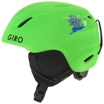 Горнолыжный шлем детский Giro Launch Jr 2019, зеленый, XS