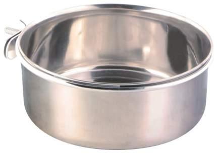 Одинарная миска для птиц TRIXIE, металл, серебристый, 0.9 л