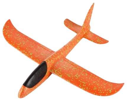 Метательный большой самолет-планер Taigen.toys Т48 оранжевый