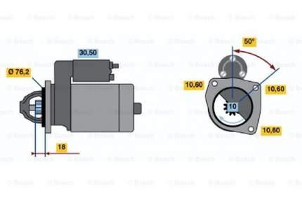 Стартер Bosch 0 986 015 200