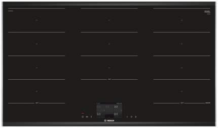 Встраиваемая варочная панель индукционная Bosch PXX 975 KW 1E Black