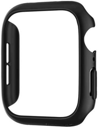 Чехол Spigen Thin Fit (062CS24474) для Apple Watch Series 4 44 mm (Black)