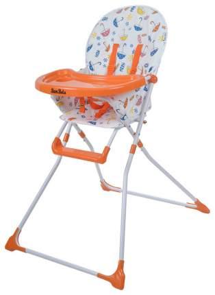 Стульчик для кормления Bambola Sencillo Зонтики, оранжевый ORANGE
