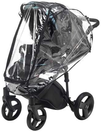 Дождевик ПВХ на прогулочную коляску с окном на молнии арт. 022