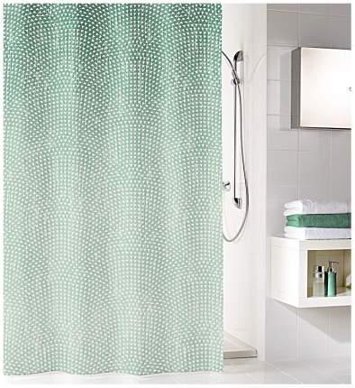 Штора для ванной Kleine Wolke Cascada 5919683305 Зеленая