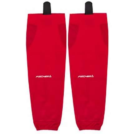 Гамаши однотонные Sr H03214RED красные One Size