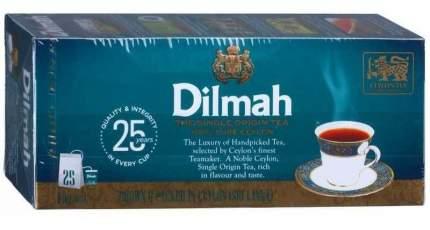 Чай Dilmah цейлонский черный 25 пакетиков