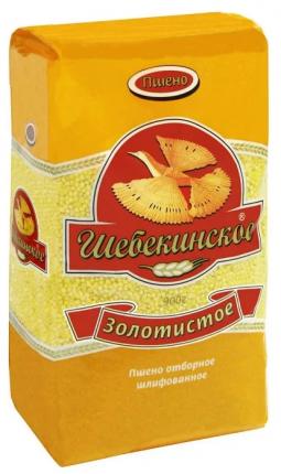 Крупа Шебекинская пшено золотистое 900 г