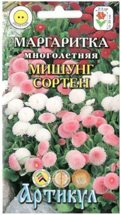 Семена Маргаритка Мишунг сортен, Смесь, 0,05 г Артикул