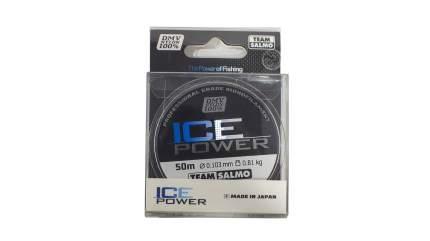 Леска монофильная Salmo Ice Power 0,1 мм, 50 м, 0,81 кг