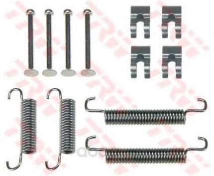 Ремкомплект тормозных колодок задних renault mascott 3.0 04 TRW SFK375
