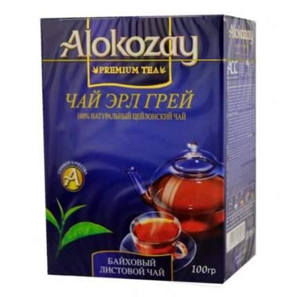 Чай черный листовой Alokozay бергамот 100 г
