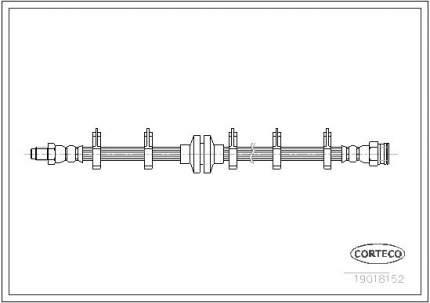 Шланг тормозной системы CORTECO 19018152