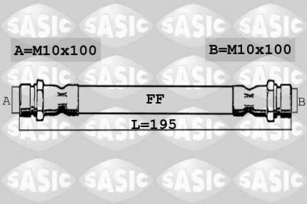 Шланг тормозной системы SASIC 6600047