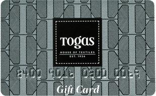 Подарочная карта TOGAS 1500