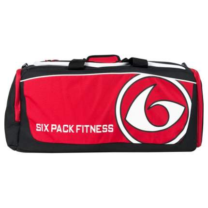 Спортивная сумка Six Pack Fitness Pursuit Duffle черная/красная/белая