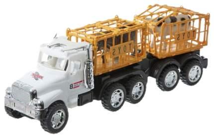 Инерционный трейлер Gratwest super truck с животными В74826