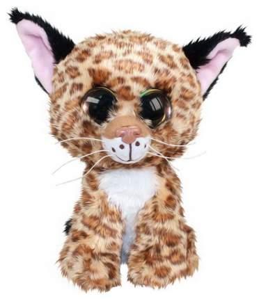 Мягкая игрушка Tactic Рысёнок Lynx, коричневый, 15 см