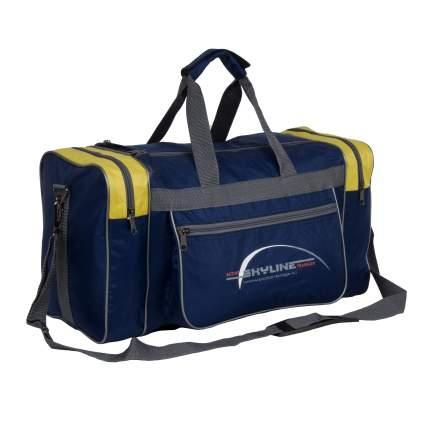 Спортивная сумка Polar 6009/6 желтая
