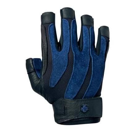 Перчатки для фитнеса Harbinger 1315 черно-синие XL