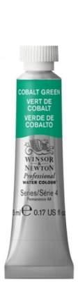 Акварель Winsor&Newton Professional кобальт зеленый 5 мл