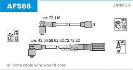 Комплект проводов зажигания JANMOR AFS66