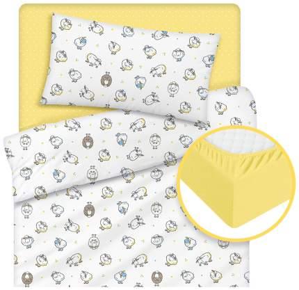 Комплект детского постельного белья Tatkraft Овечка Ламми 17733