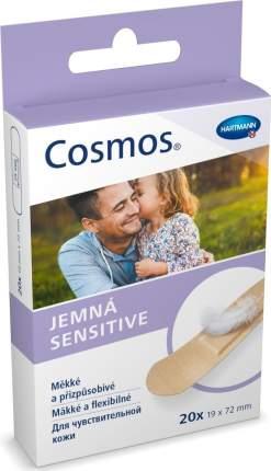 Пластырь Cosmos sensitive для чувствительной кожи 20 шт.