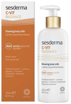 Молочко для тела Sesderma C-Vit Radiance Glowing Body Milk 250 мл