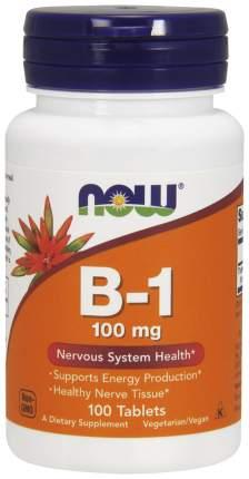 Витамин B NOW B-1 100 табл.