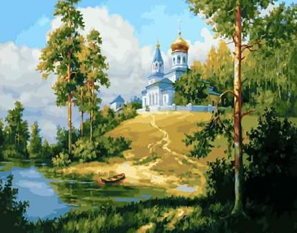 """Картина по номерам Paintboy """"Храм на холме"""", 40x50 см"""