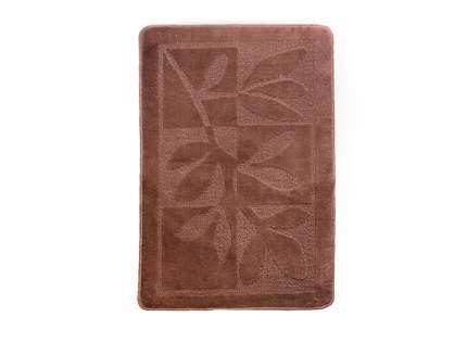 Коврик для ванной ЭКО шоколадный, SHAHINTEX 2449-2