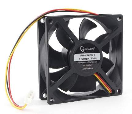 Корпусной вентилятор Gembird D8025HM-3 d80мм