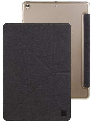 Чехол Uniq Yorker Kanvas (NPDAGAR-KNVPBLK) для iPad 10,5 Pro/iPad Air 2019 (Black)