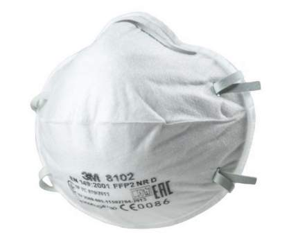 Полумаска 3M FFP2 8102 20 шт