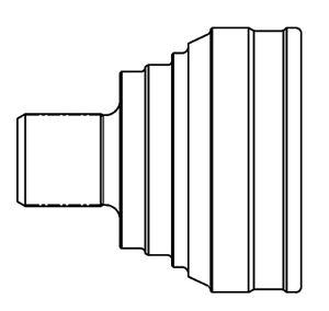 Комплект подшипника ступицы колеса GSP 9400170K